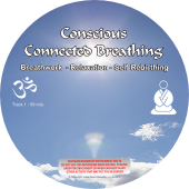 Conscious Connected Breathing / Self Rebirthing CD mp3 - graphic